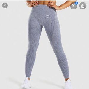 Gymshark viral seamless leggings in steel blue